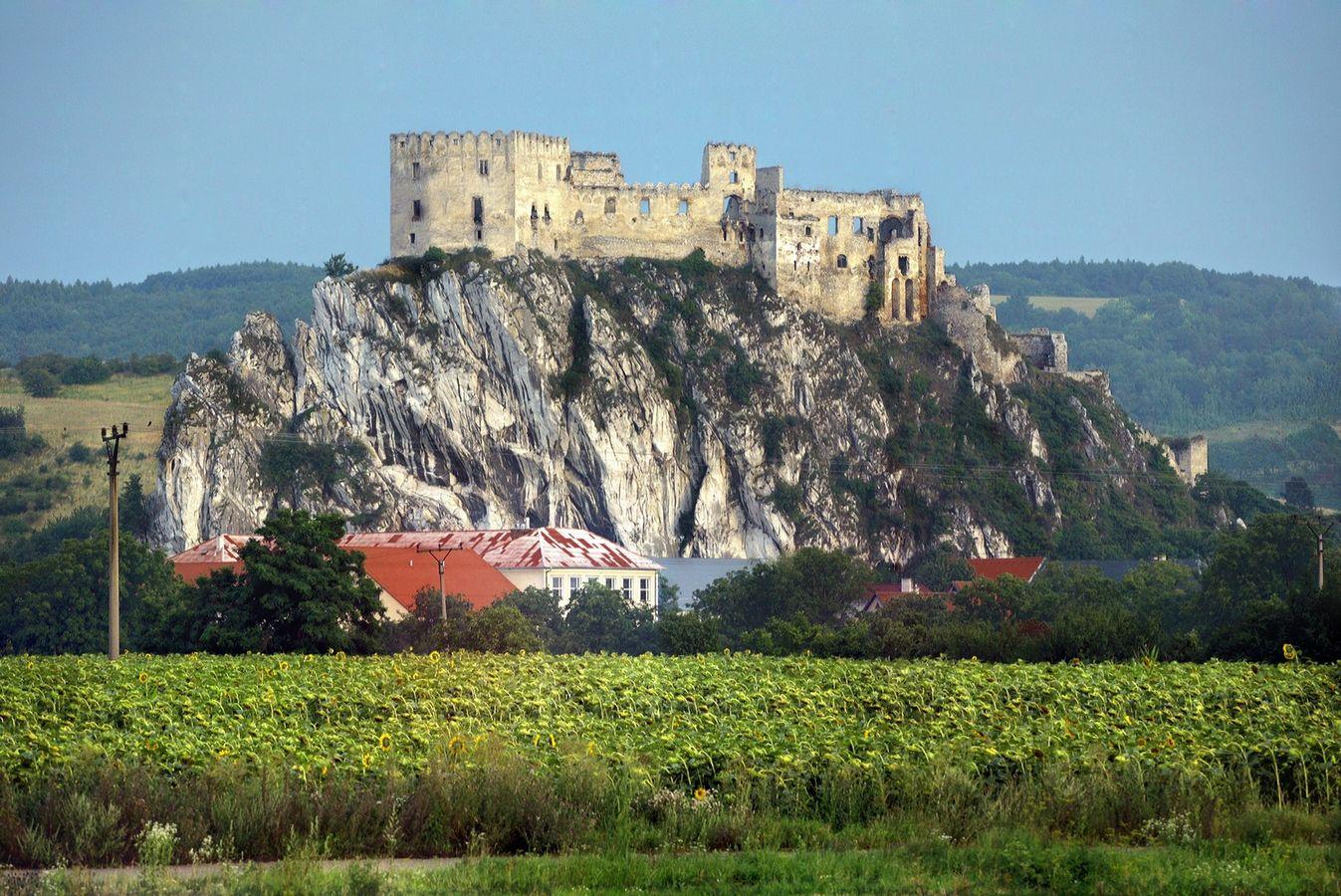 The Castle of Beckov.