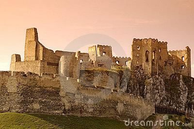 Slovakia Castle Beckov.