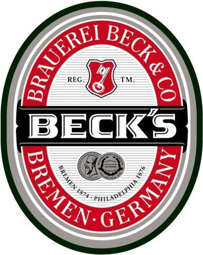 Beck\'s Logo in 2019.