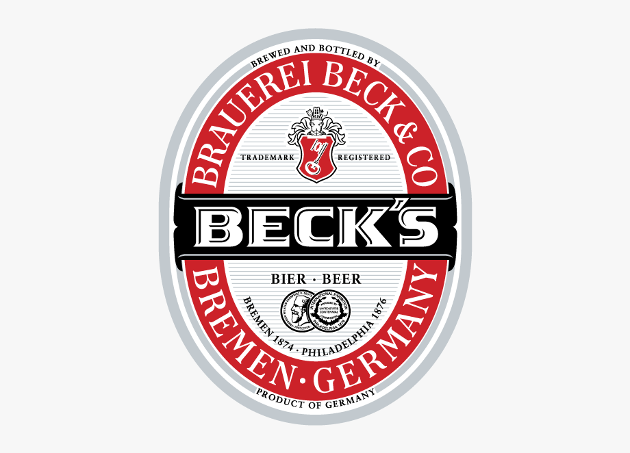 Becks Bier Beer Label Vector Logo.