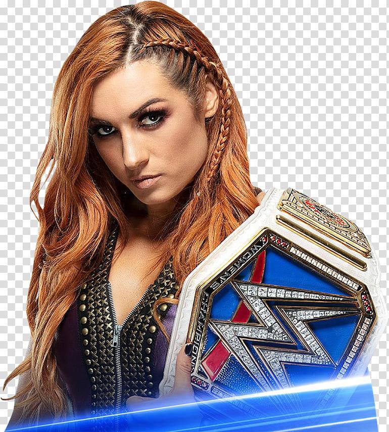 Becky Lynch SmackDown Women Champion Preview transparent.