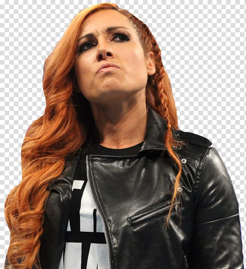 Becky Lynch transparent background PNG clipart.