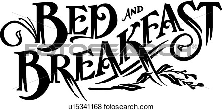 Breakfast In Bed Clipart.