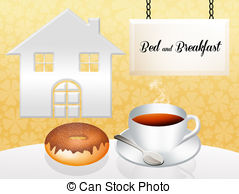 Clipart bed and breakfast.