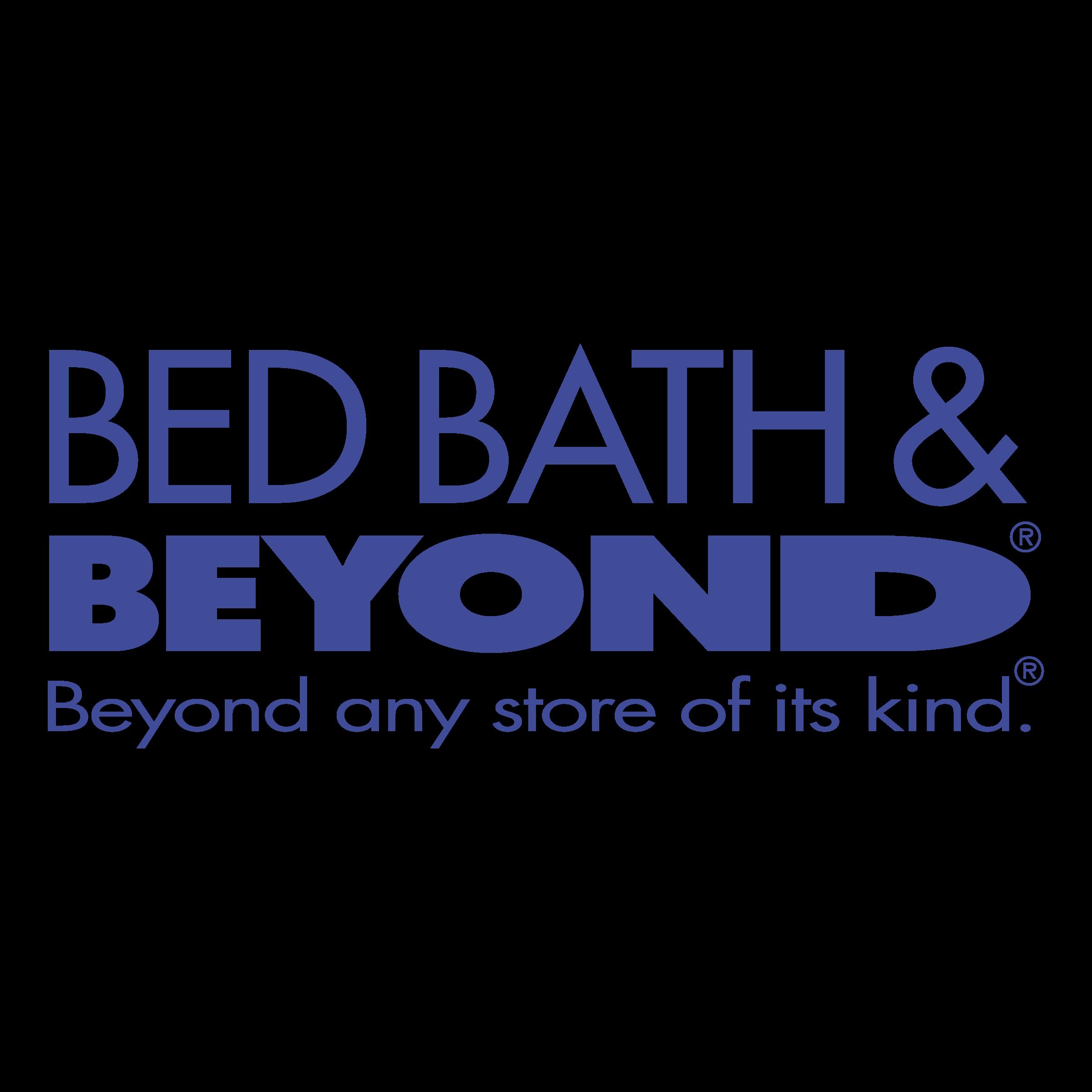 Bed Bath & Beyond Logo PNG Transparent & SVG Vector.