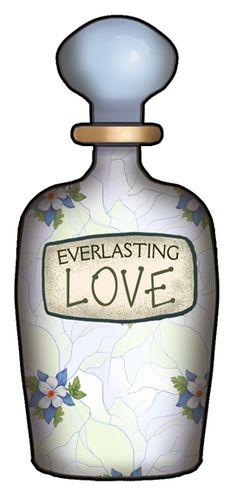perfume bottles clip art.