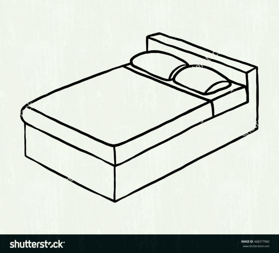 Bed clipart black and white 5 » Clipart Portal.