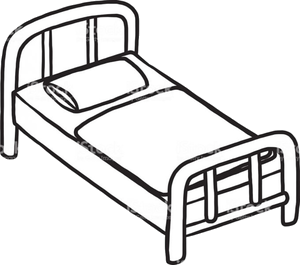 Bed Thermometer Clip Art Black And White Make Clipart Png.