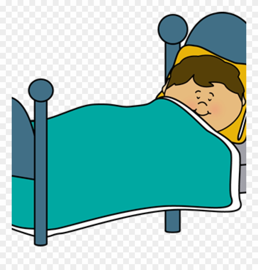 Download Free png Png Library Sleep Clipart Boy Sleeping On The Bed.