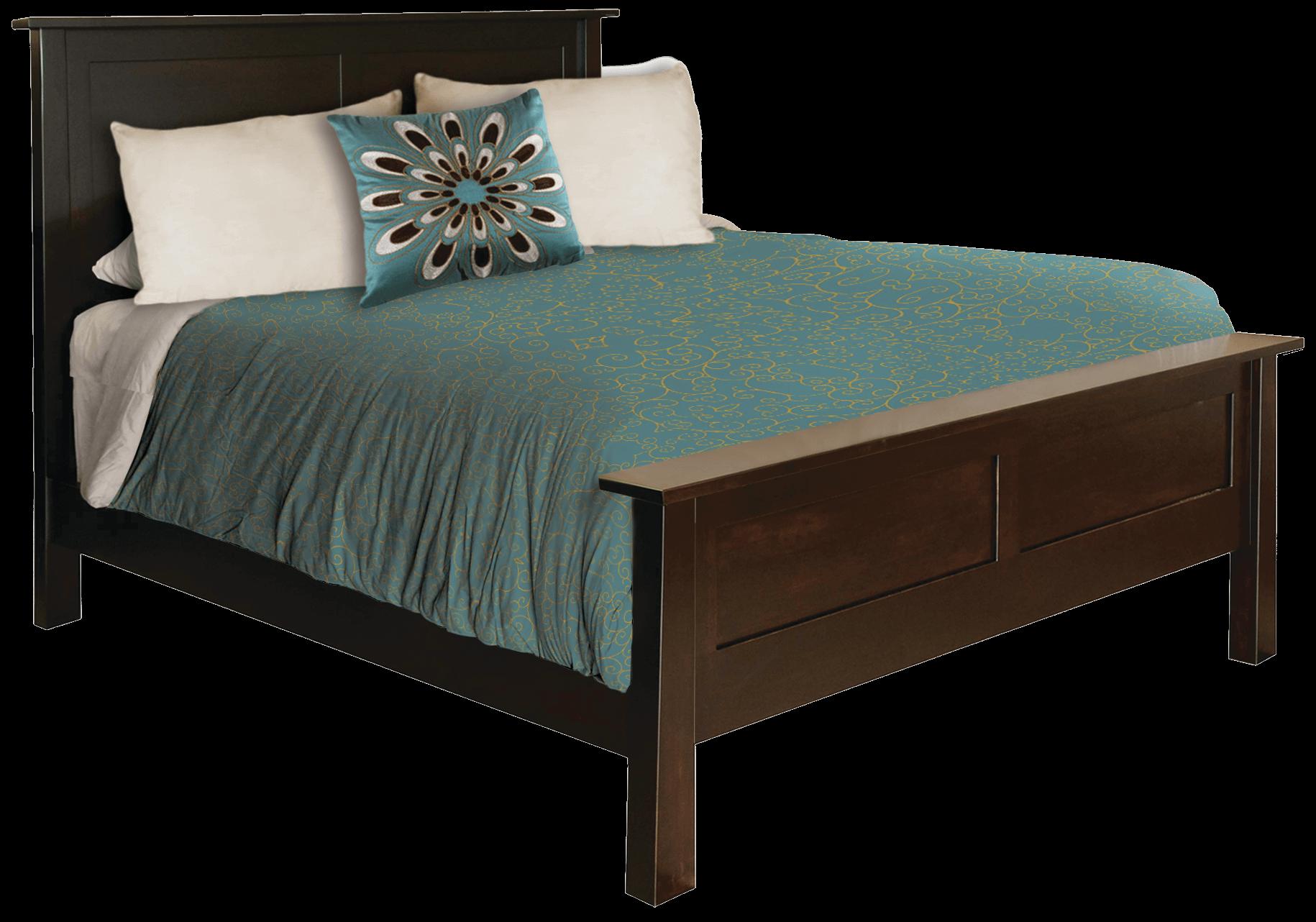 HD Bed Transparent Furniture.