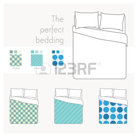 613 Bed Linen Pattern Stock Vector Illustration And Royalty Free.