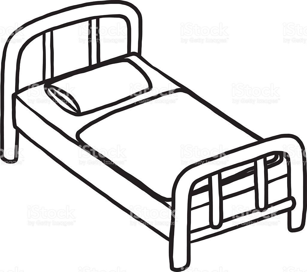 Tokeo la picha la bed clipart.