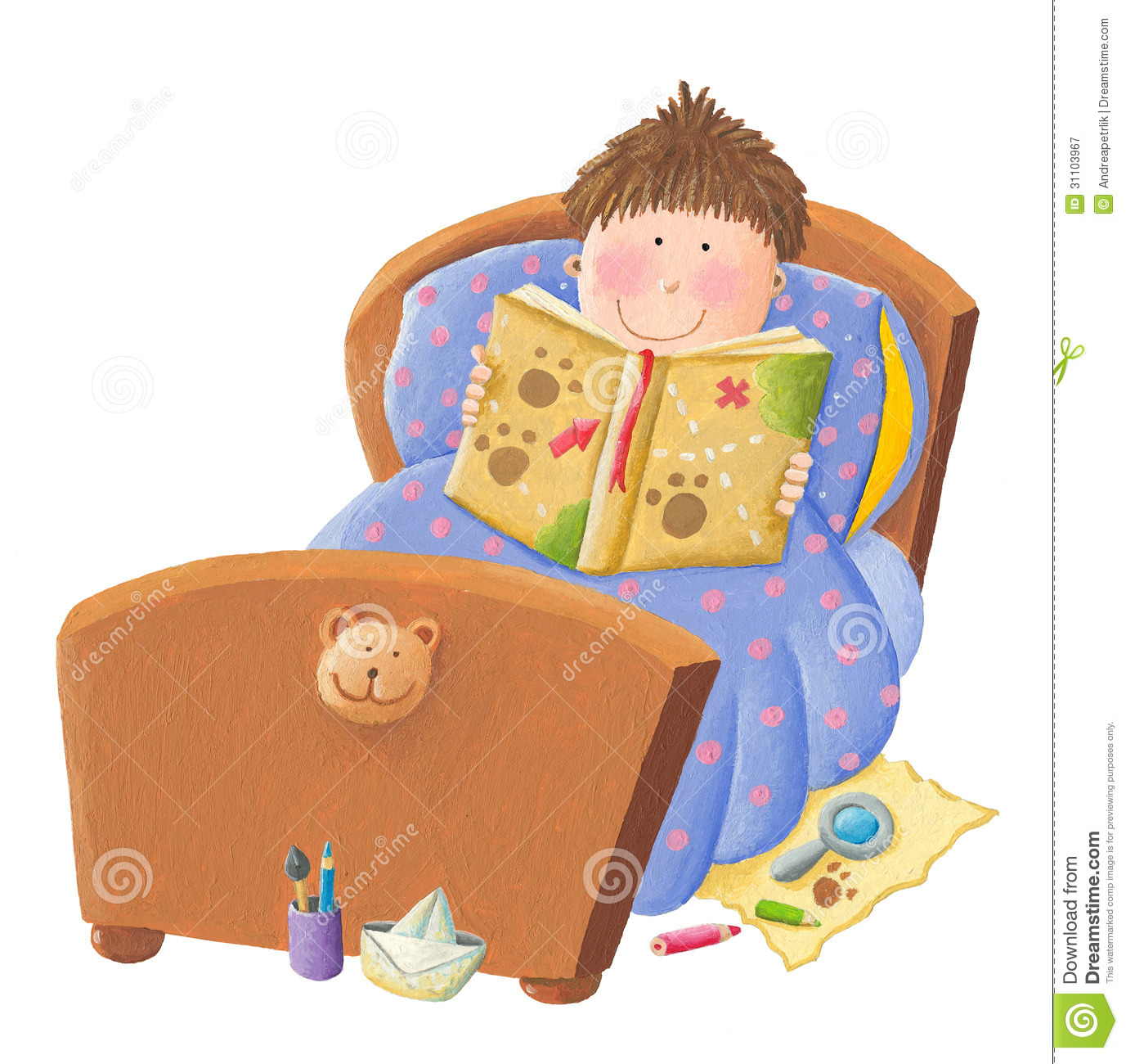 Bedtime Stock Illustrations.