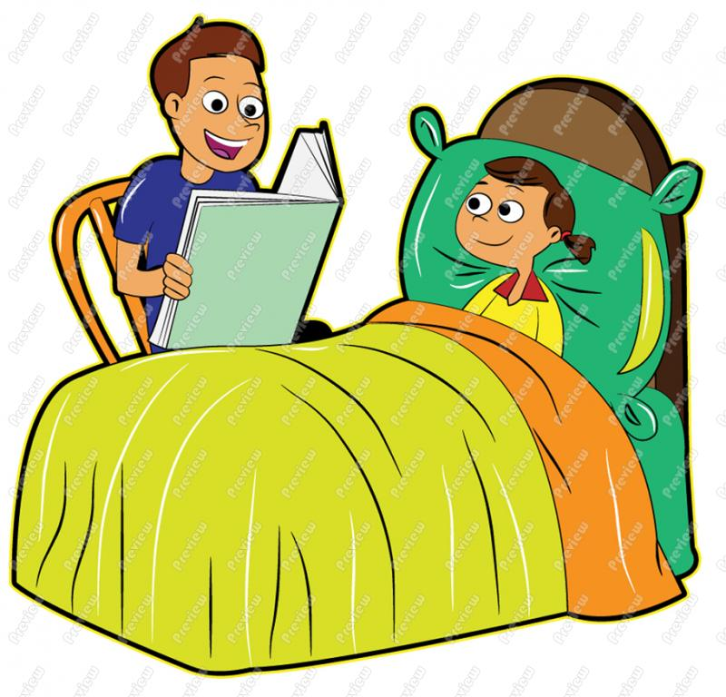 Bedtime Clipart.