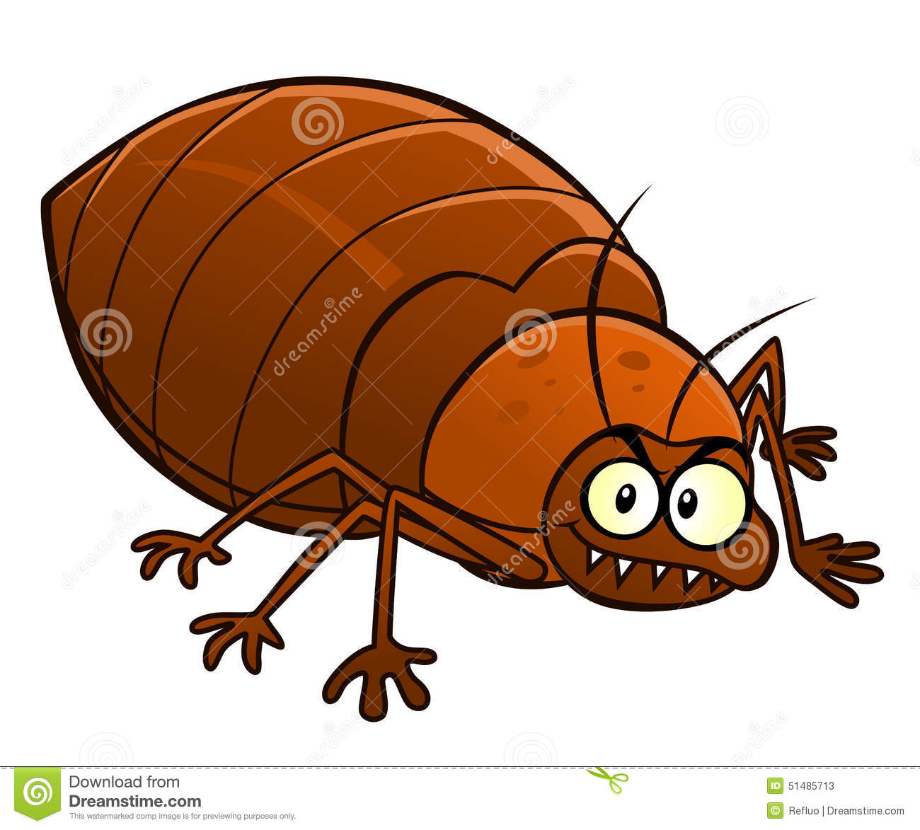 Bedbug Stock Illustrations.
