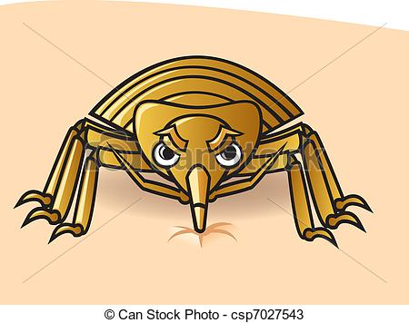 Bedbug Vector Clip Art Royalty Free. 666 Bedbug clipart vector EPS.