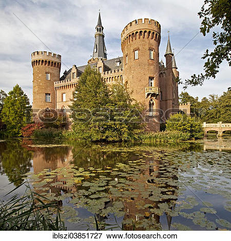 "Picture of ""Schloss Moyland Castle, moated castle, Museum of."