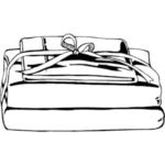 Bedding clipart #3