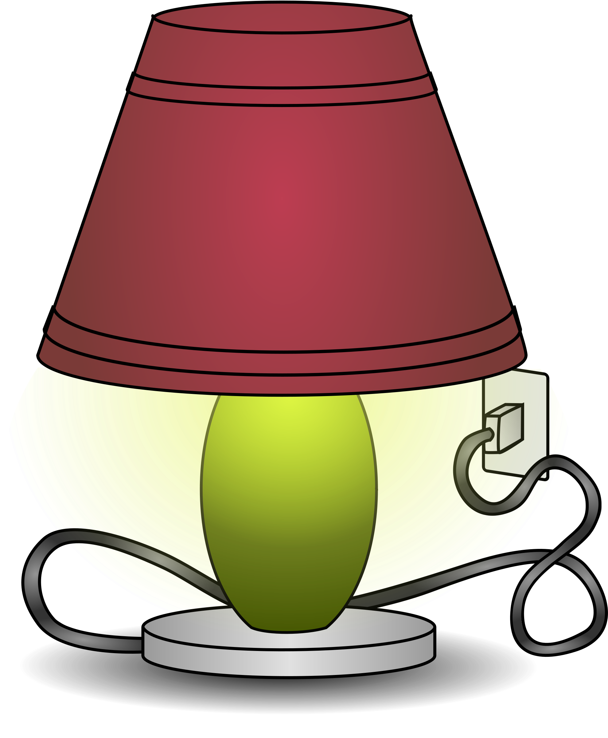 Lamp cliparts.
