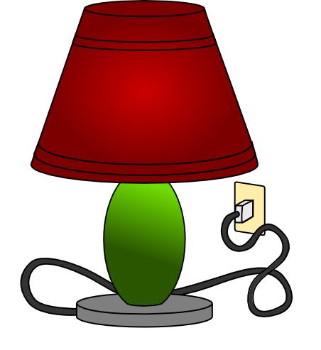Bedside Lamp Clipart Clipground