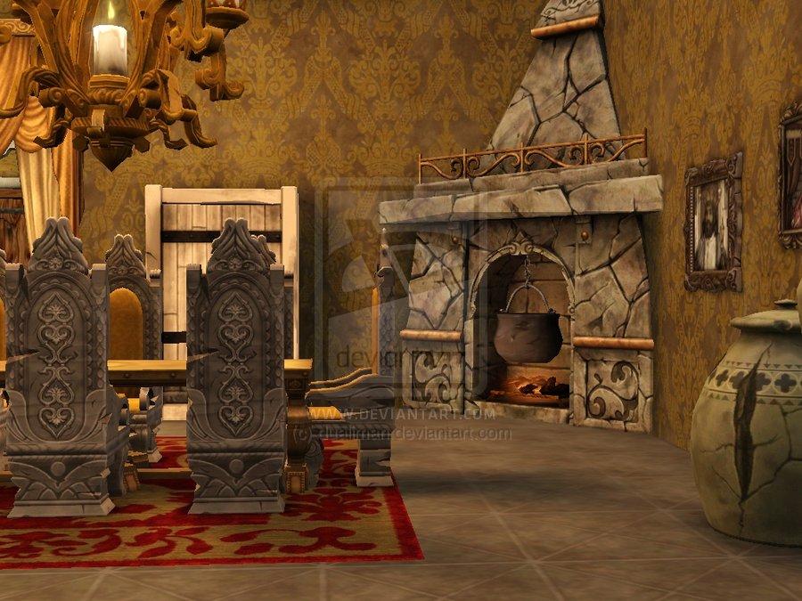 Bedroom clipart medieval, Bedroom medieval Transparent FREE.