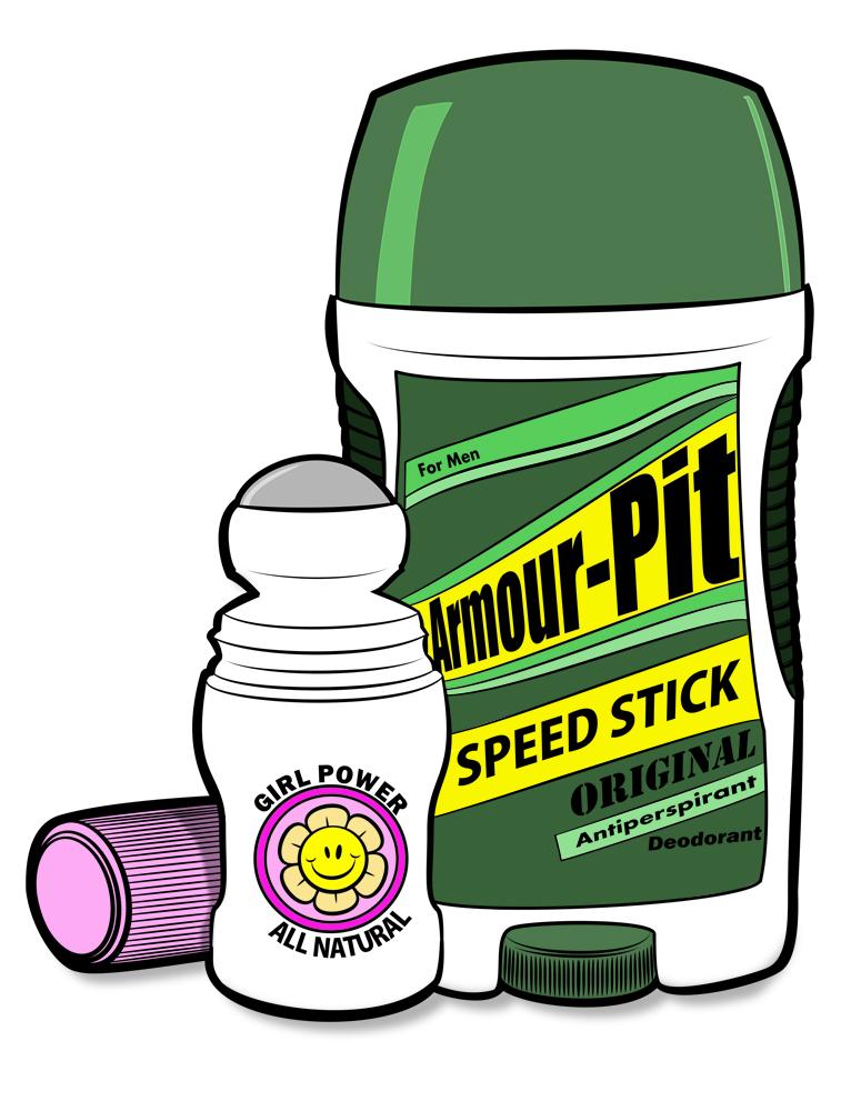Deodorant Clipart.