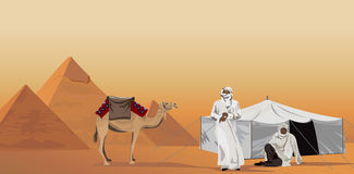 Bedouins Stock Illustrations.