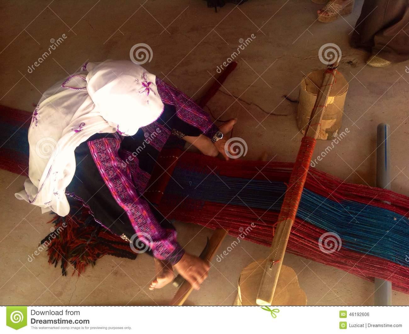 Bedouin Woman In Nagev Desert, Israel Editorial Photo.