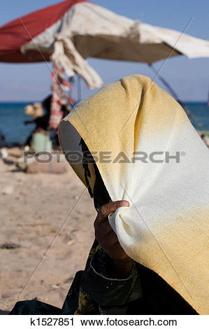 Stock Photography of Bedouin woman k1527851.