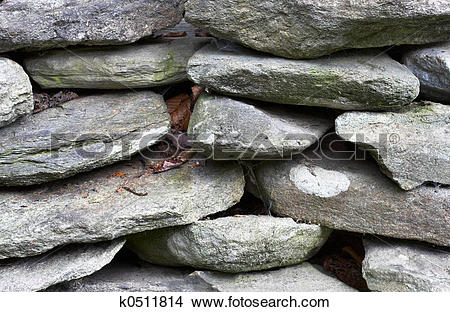 Stock Photo of Stacked Rocks k0511814.