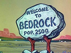 Bedrock Flintstones Clip Art.