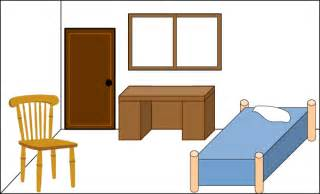 Clean Bedroom Clipart.
