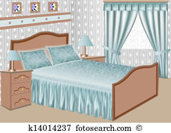 Bedroom Clipart and Illustration. 7,224 bedroom clip art vector.