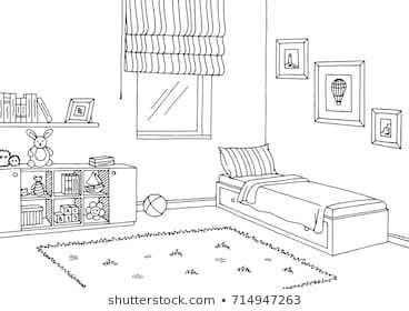 Bedroom clipart black and white 8 » Clipart Portal.