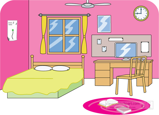Bedroom Clipart Images.