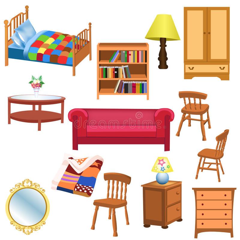 Furniture Stock Illustrations.