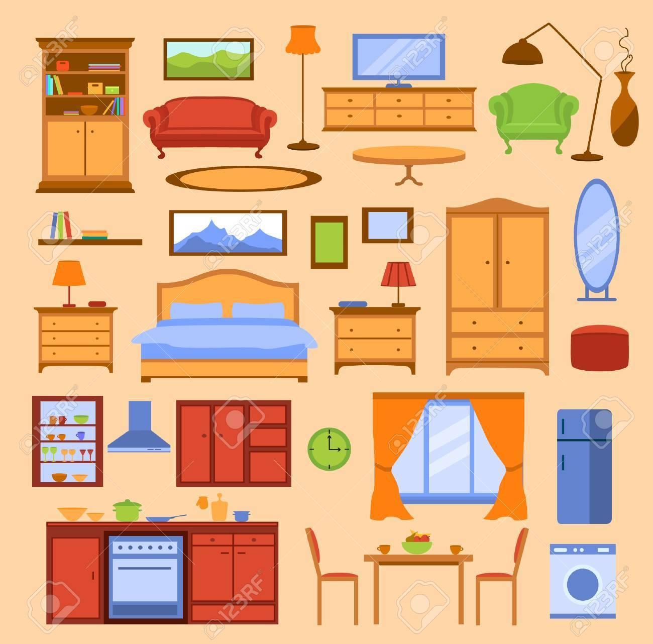 Bedroom furniture clipart 7 » Clipart Portal.