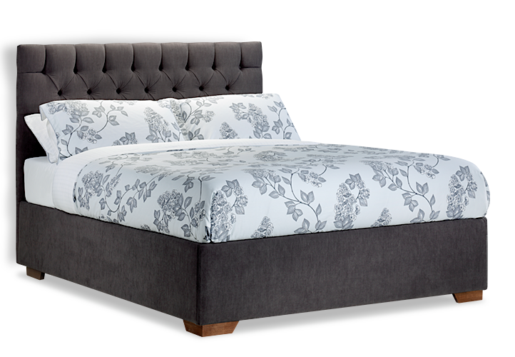 Mixed Style Bed PNG Image.
