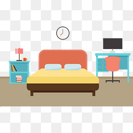 Bedroom Furniture Png, Vector, PSD, and Clipart With Transparent.