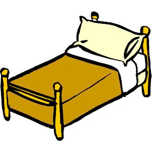 bed clipart.