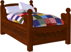 Bunk bed clipart free clipart images.