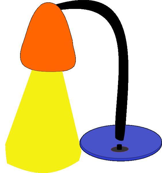 Clip art lamp.