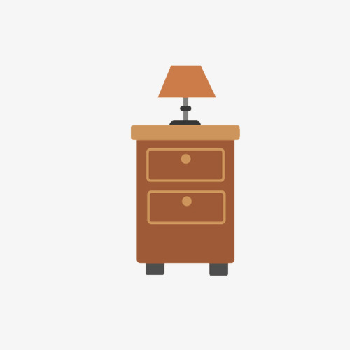 Download Free png Bedside Table And Lamp, Lamp Clipart, Hand.