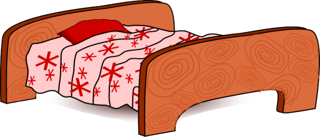 Free Bed Clipart, 1 page of Public Domain Clip Art.
