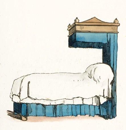 Bed Clip Art.