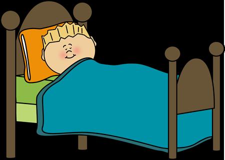 Kids bedtime clipart.