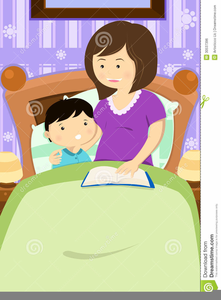 Free Bedtime Story Clipart.