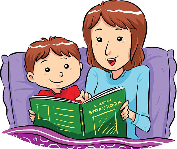 Bedtime story clipart » Clipart Station.