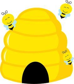 Home free clipart bee beehive bees carmen.