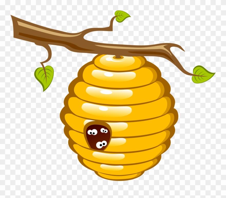 Honey Bee Beehive Clip Art.